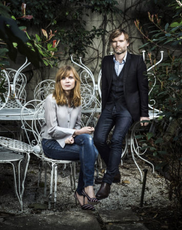 Isabelle Carre & Olivier Adam